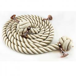 natural cotton wormed bannister rope copper bronze2