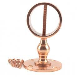 28mm copper bronze low profile handrail rope fitting 3